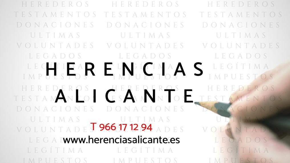 Abogado Herencias Alicante