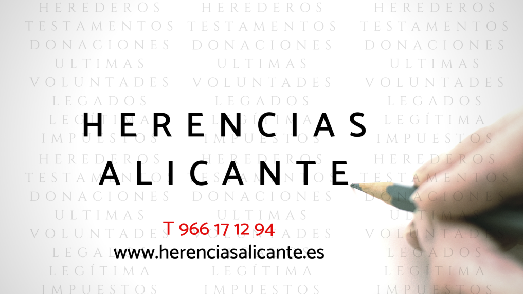 Abogado Herencias Alicante
